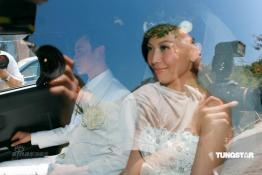 独家组图:蔡少芬今大婚新郎张晋提前到场准备
