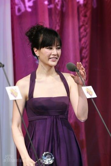 图文:BQ红人榜现场--刘孜当选年度时尚红人奖