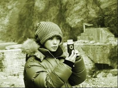 图文:阿娇冬季北川送温暖-阿娇路上摄影