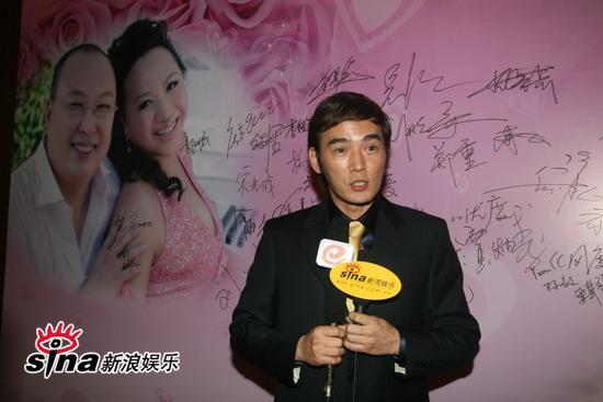 图文:吴翊凤北京大婚--焦恩俊祝福新人