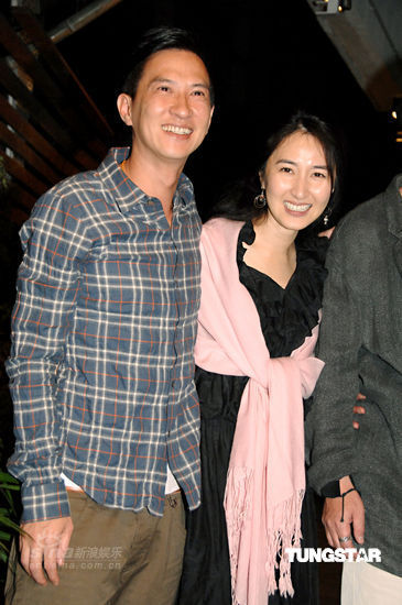 Nick Cheung, Esther Kwan (wife)