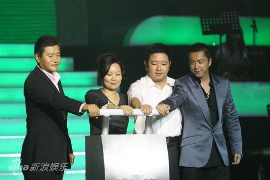 图文:2009明月盛典-通用磨坊总裁朱玺启动仪式