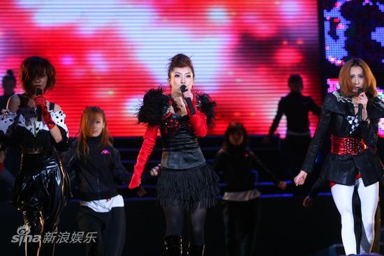 图文:2009潮流盛典 动感热舞