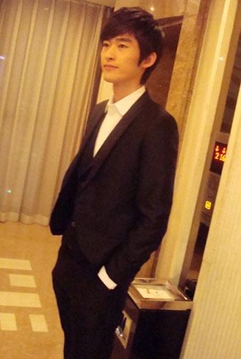 图文:2009新浪网络盛典-年度最具潜力演员张翰