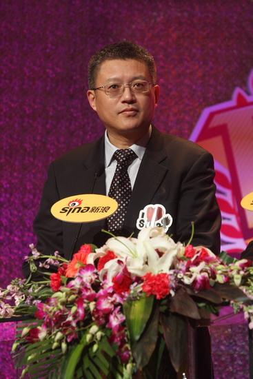 图文:新浪网络盛典-中国新闻出版社社长总编辑姜军