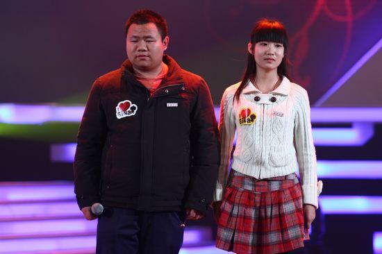 图文:新浪网络盛典-昌子琪(女)与李立科