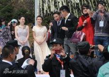 组图:谢娜张杰大婚众星云集婚礼现场浪漫感人