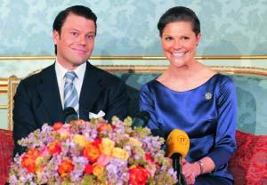 瑞典女王储将下嫁形体教练相识6年友情变爱情