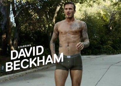 贝克汉姆内裤广告