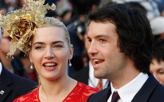 凯特-温丝莱特与第三任丈夫