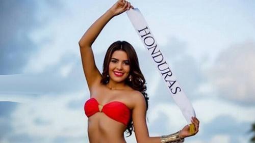 2014世界小姐选美洪都拉斯代表