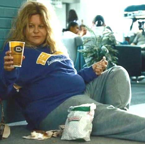 组图:梅格瑞恩改蜜糖本色增肥60公斤变大肥妈