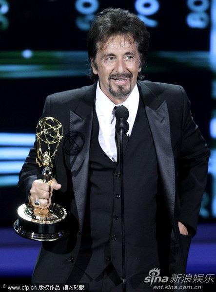 详讯:阿尔-帕西诺获电视电影最佳男主角奖