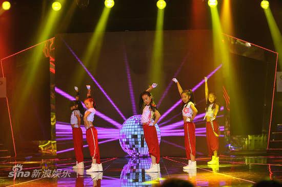 资料图片:《中国梦想秀》-现场舞蹈
