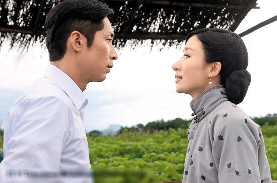 """马浚伟与杨怡在剧中也是一对经常争吵的""""冤家"""""""