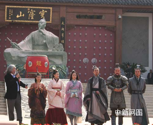 《西游记》演员下半年公布张纪中导3剧有些累