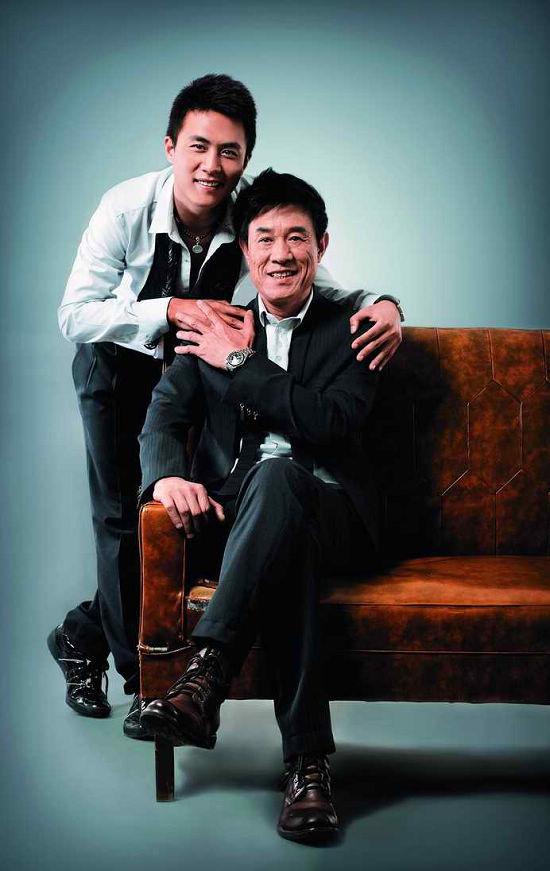 杜志国携手杜淳真父子出演《非亲父子》(图)