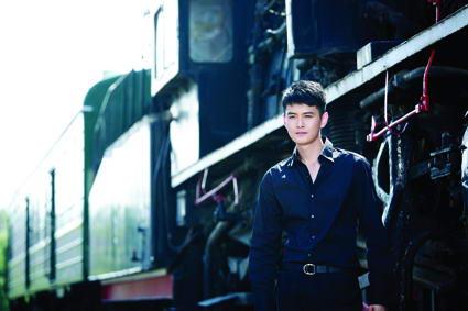 王雨演绎蓝调风尚低调酷帅被赞中国版RAIN(图)