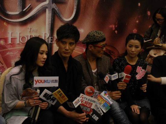 《灵珠》众主演接受采访