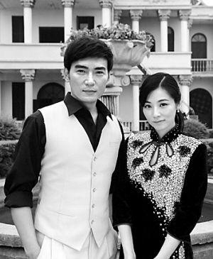 """剧中要谈""""忘年恋""""的焦恩俊和陈怡蓉"""