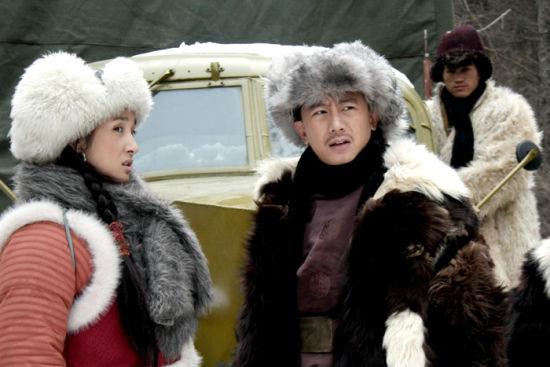 《战火二》中王妍苏和张沛然上演对手戏
