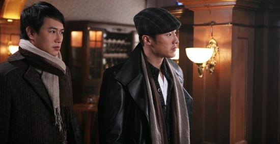 李东翰和陈键锋戏里戏外好兄弟