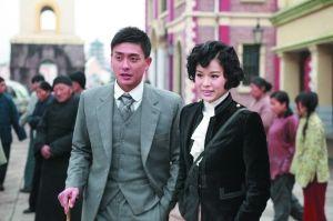 胡杏儿和黄宗泽合作电视剧《跑马场》