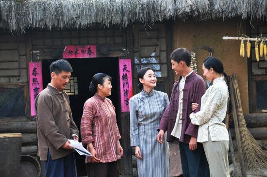 《黑河风云》热拍 杨淼跨年龄塑造角色