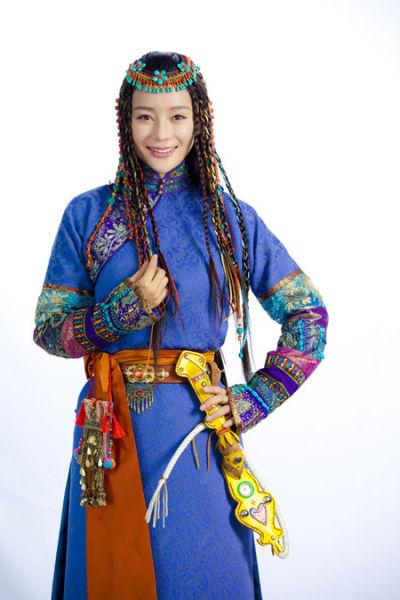 《山河恋・美人无泪》袁姗姗造型