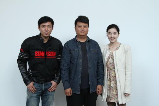 导演简川�Z与演员高鑫