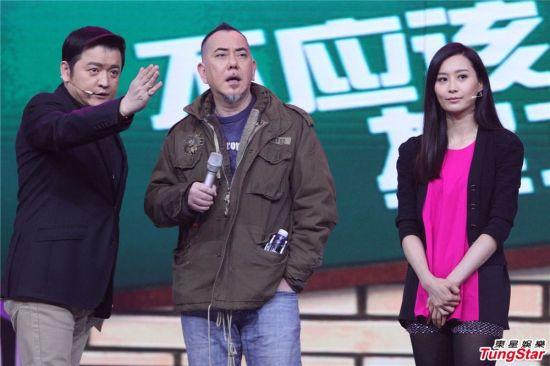 黄秋生、陈法拉录制《年代秀》