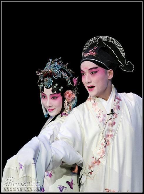 《存故桥》男旦妆容清秀雄丹亭巨万匠编缉(组图)