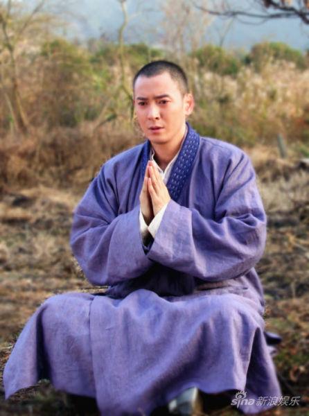 新《天龙八部》韩栋饰演的虚竹刚在芒果台亮相便遭停播