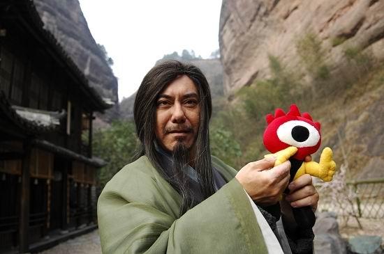 图文:《射雕》主演和小浪人--黄秋生演黄药师