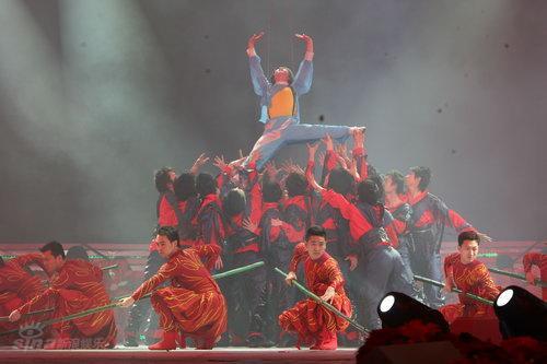 图文:湖南卫视元宵喜乐会--《洞庭印象》