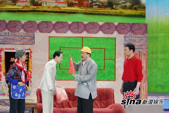 图文:09年央视春节晚会--黄宏小品《黄豆黄》