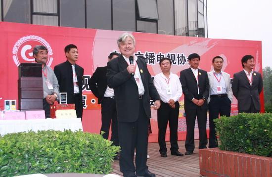 图文:嘉宾联谊晚宴--陈家林代表发言
