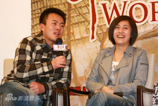 图文:《牵挂》杀青-刘芸和剧中的爱人