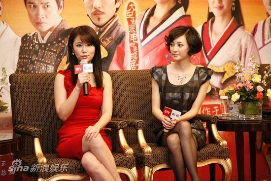 林心如,王丽坤畅谈角色图片