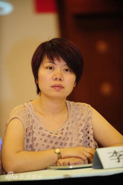 图文:《错嫁》发布会-银润传媒总经理李瑛