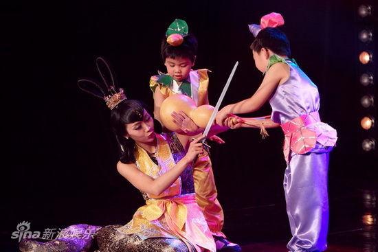 葫芦娃大战蛇妖