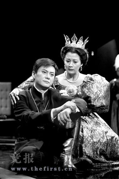 人艺《哈姆雷特》王子装扮有点酷(图)