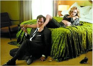 昆汀《无良杂种》挑逗克鲁格拍摄性感大片(图)