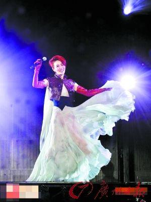 王菲重慶演唱會