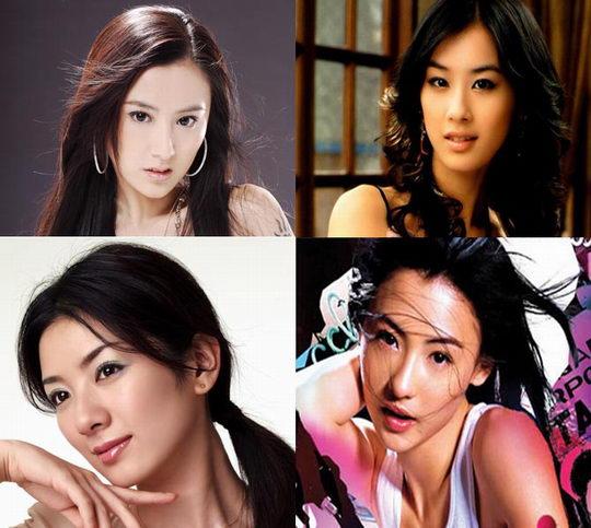 娱乐圈美女四胞胎嘻哈团体T.H.P黄薇当仁不让