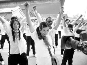 阿朵为奥运来首《啦啦队歌》 将赴国外进修舞蹈图片