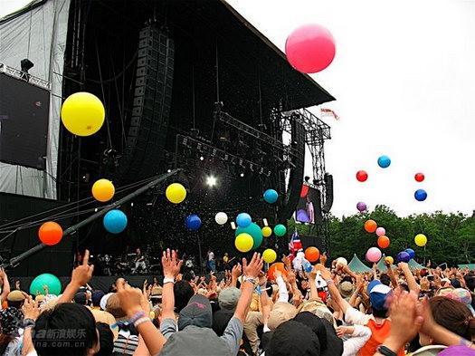 亚洲最大:日本富士音乐节之旅紧急动员(图)