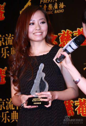 后台采访:张靓颖牛年有好开头奖项属于团队
