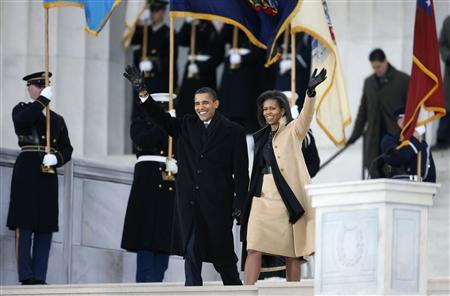 斯普林斯汀开场波诺告白奥巴马就职庆高潮迭起