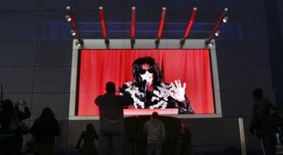 """迈克尔-杰克逊宣布在伦敦举办""""谢幕""""演出(图)"""